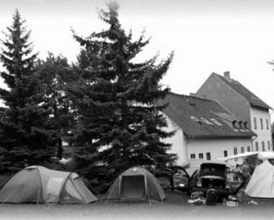Historische Ansicht des Vereinsheims